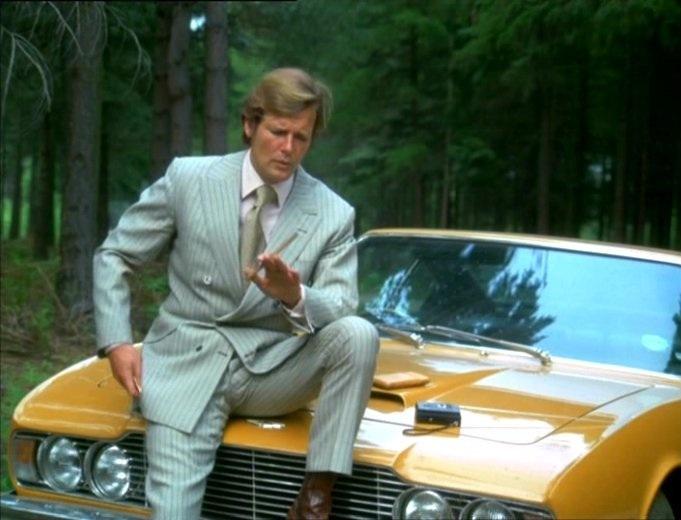 Roger Moore et le crépuscule desriches