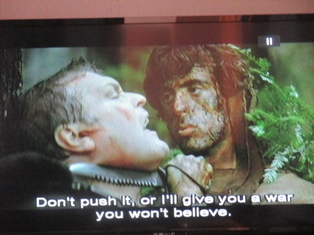 Demain, journée Rambo, veinards ! Nicolas Bonnal explique avec Platon les mystères de l'Ouest revu et corrigé par Sylvester Stallone (sylvestre, l'homme de la forêt). Sage en survie initiatique!!!