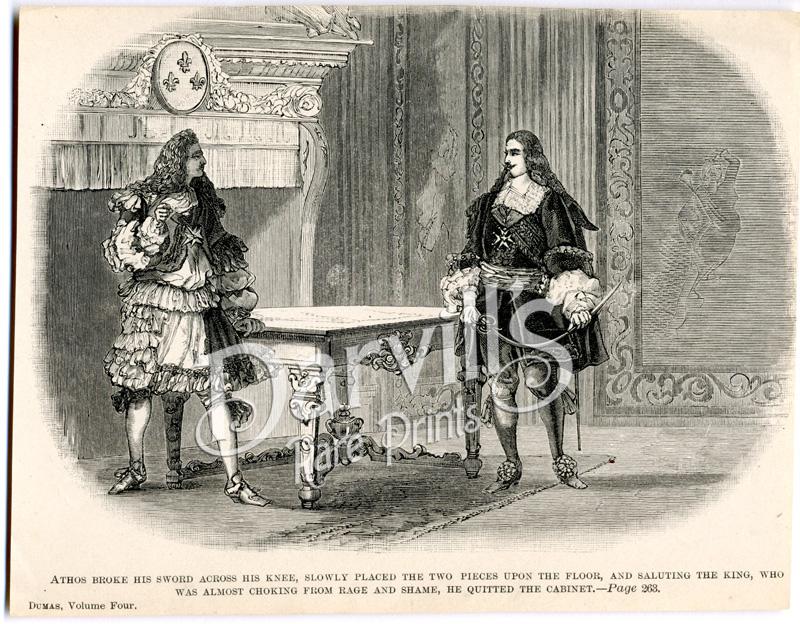 Génie de Dumas. Description apocalyptique de d'Artagnan !« Ainsi étendu, ainsi abruti dans son observation transfenestrale (la télé ! La télé !), d'Artagnan n'est plus un homme de guerre, d'Artagnan n'est plus un officier du palais, c'est un bourgeois croupissant entre le dîner et le souper, entre le souper et le coucher ; un de ces braves cerveaux ossifiés qui n'ont plus de place pour une seule idée, tant la matière guette avec férocité aux portes de l'intelligence, et surveille la contrebande qui pourrait se faire en introduisant dans le crâne un symptôme de pensée.»