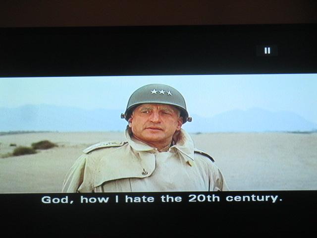Et il n'avait pas vu le vingtième-et-unième siècle le pauvre!