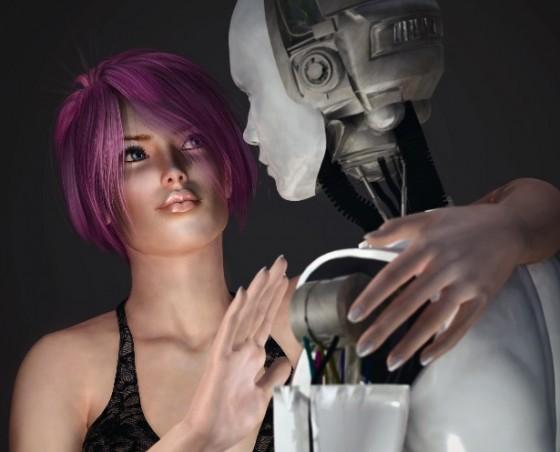 Journée Alien ; un conte androïde de Nicolas Bonnal (recueil Amazones)!
