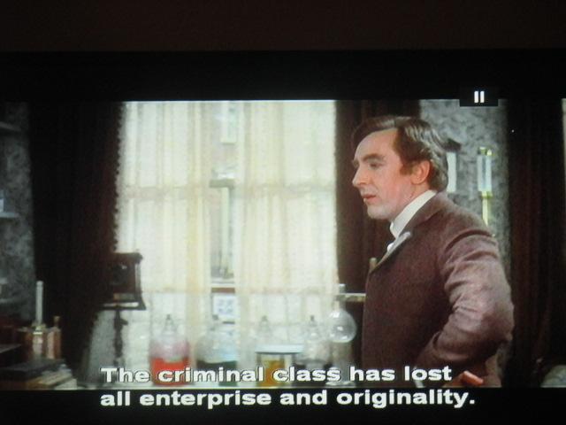 Cassien demain face à l'acédie de notre Sherlock Holmes, revu et filmé par le génie de Billy Wilder!