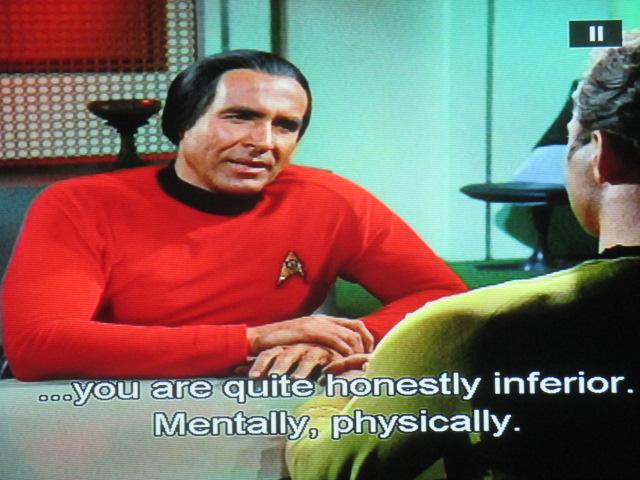 Star Trek entre surhomme et MobyDick