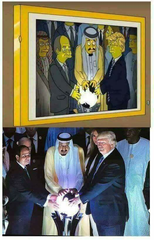 Quand je veux comprendre l'actualité, je regarde un épisode des Simpson. Je laisse le CON surCNN…