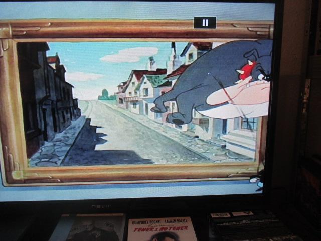 Deefensa.org, Nicolas Bonnal et la dystopie ! Ici chez mon Tex Avery on sort et on entre par un écran nommé tableau!