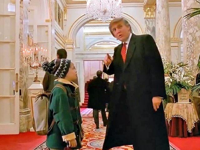 Les caméos du Donald disparaissent des pellicules (sic) hollywoodiennes, ici dans Home alone. Heureusement il nous reste Twitter. Nicolas Bonnal expliquait sa destinée postmoderne, le premier, et sur Spoutnik encore!