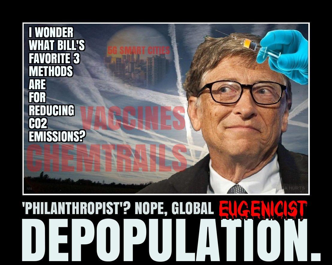 ESCLAVAGE... Demain, tous pucés par Bill Gates, George Soros,  Rockefeller Bill-gates
