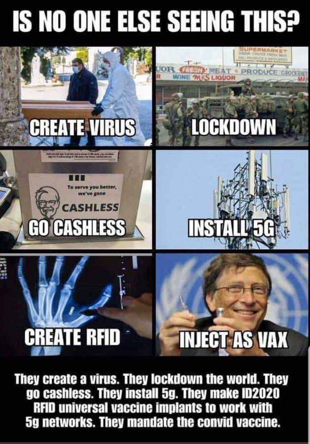 ESCLAVAGE... Demain, tous pucés par Bill Gates, George Soros,  Rockefeller Rfid