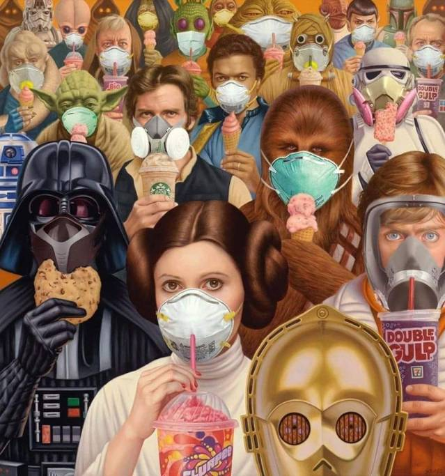 Bas les masques…On a évoqué leur nuisance pour notre santé. Voyons leur symbolique alors (persona, le masque, en latin). Vigilant Citizen et la fonction paranoïaque, satanique, totalitaire et sociologique des masques : « Bien que les masques faciaux aient été jugés inutiles et même dangereux il y a seulement quelques semaines, ils sont maintenant appliqués dans plusieurs villes du monde. Qu'est-il arrivé? La science a-t-elle fait une découverte de dernière minute révolutionnaire sur les masques? Non. Cependant, ceux qui profitent de cette crise ont vu une opportunité: elle peut être instrumentalisée pour créer un climat social spécifique. Il s'agit de maintenir la peur, l'anxiété et la paranoïa. Il s'agit de se rappeler constamment que les choses ne retournent jamais à la normale. En bref, il s'agit d'ingénierie sociale… il s'agit de vous transformer en un agent de peur qui parle et qui marche.»