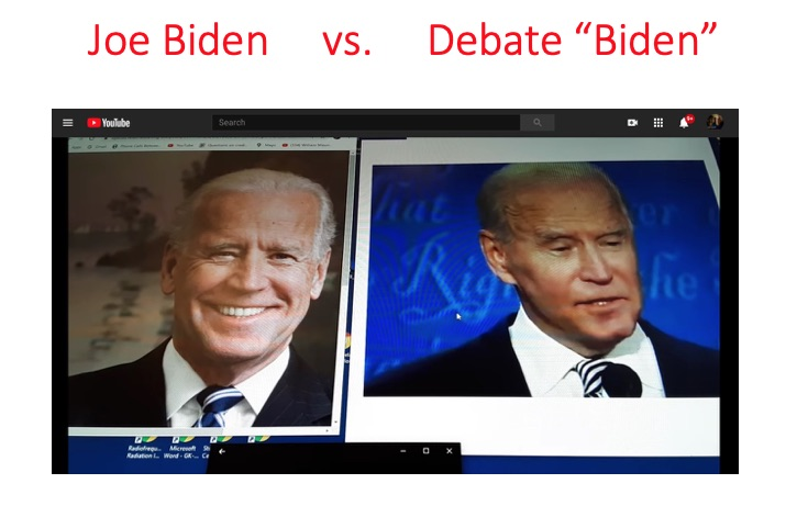 Le zombi Joe Biden (vingt millions d'abonnés sur Twitter contre 88 au Donald) aurait bien un sosie. Cf. le débat truqué («ta gueule, mec !») d'une heure trente alors qu'il est incontinent – et le coup du pied cassé conclu par une sortie de l'hôpital. Les preuves de la tricherie éhontée se multiplient. Avec son charisme de scarabée, Biden a eu vingt millions de voix de plus qu'Obama. Ils impriment les voix comme les billets verts… Mais les Américains amers sentent confusément quelque chose. Les tribulations apocalyptiques sont bien devant nous. Par le chercheur (militaire et universitaire) américain JimFetzer.